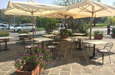 Esterno Ristorante Antica Perosa - Bergamo