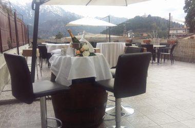 Terrazza Caffè orologio Clusone